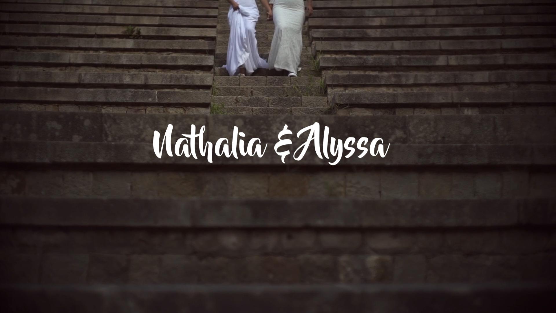elopement video Nathalia & Alyssa