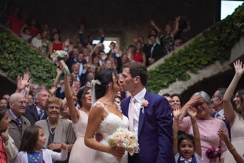 video de boda en el far de sant sebastià
